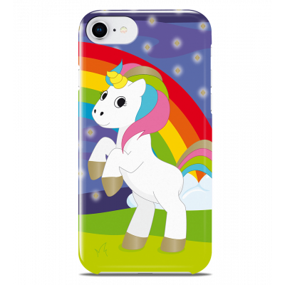 Coque pour iPhone 6S/7/8 - I Cover 6S/7/8 Licorne