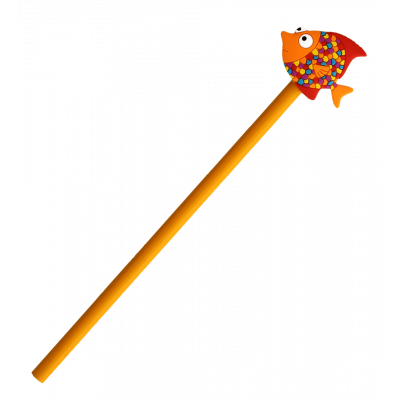 Bleistift - Ani-pencil Tropical Fish