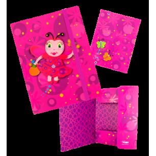 A5 cardboard folder - Akademic Ladybird