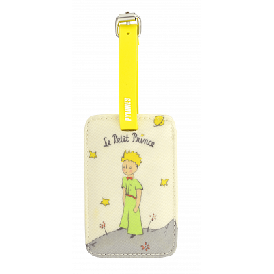 Luggage label - Voyage Le Petit Prince Yellow