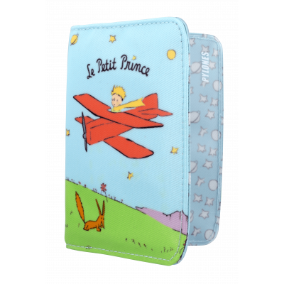 Passport holder - Voyage Le Petit Prince Blue