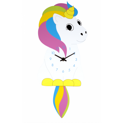 Clock - Dancing Clock Unicorn