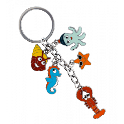 Keyring - Charms 2 Octopus