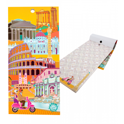Magnetic memo block - Notebook Formalist Rome