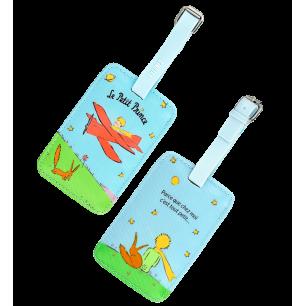 Etiquette de bagage - Voyage Le Petit Prince Bleu