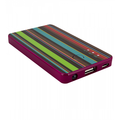 Batterie nomade - Get The Power 2800mAh Bayadere