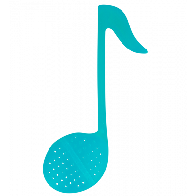 Tea infuser - Music T Turquoise