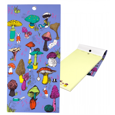 Magnetic memo block - Notebook Formalist Alice