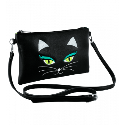 Small shoulder bag - Brody Black Cat