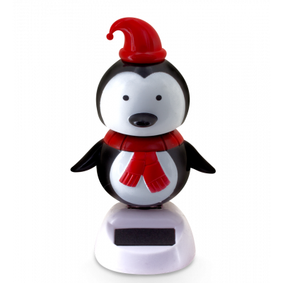 Solar powered dancing figurines - 1-2-3 Soleil Penguin