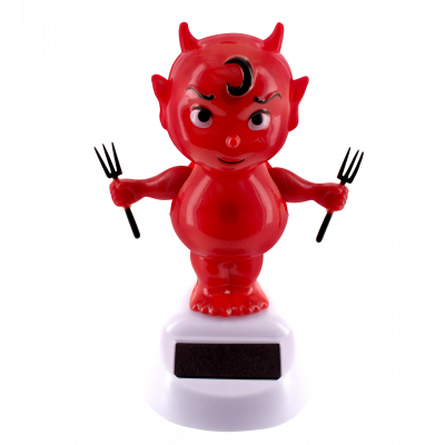 Solar powered dancing figurines - 1-2-3 Soleil Devil