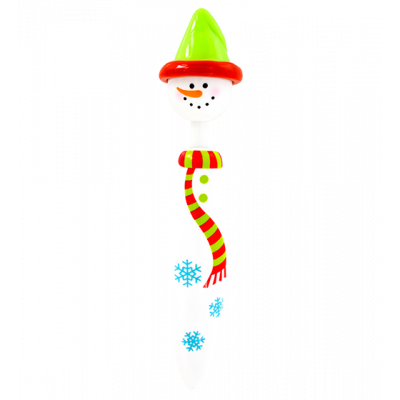 Retractable ballpoint pen - Occupation Pen Snowman