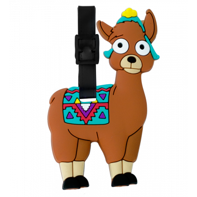 Luggage label - Ani-luggage Llama