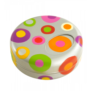 Pocket ashtray - Goal Silver Spots