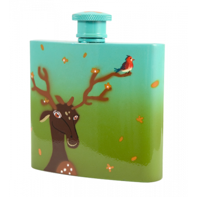 Glouglou - Hip flask Deer