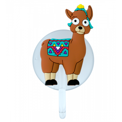Suction hook - Ani-holder Llama