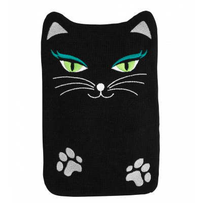 Hot water bottle - Hotly Black Cat