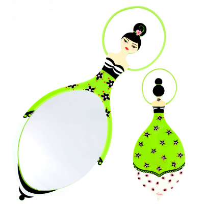 Glam Glam - Mirror Green