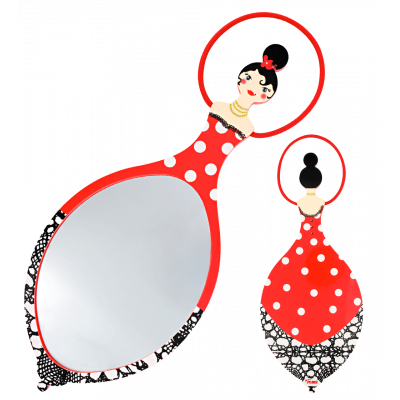 Glam Glam - Mirror Red
