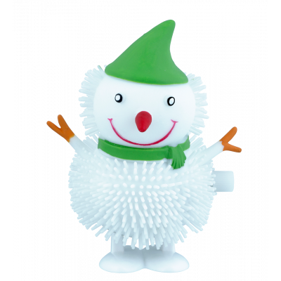 Wind up figurine - Jumpy Snowman 1