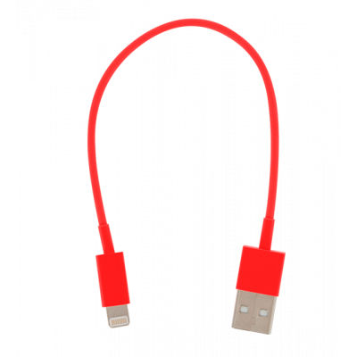 Mini-USB-Kabel für iPhone - USB Lightning Rot