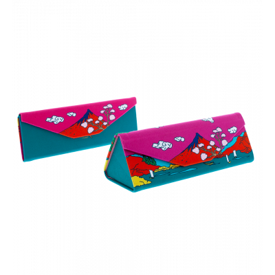Hard glasses case - Fold Case Estampe