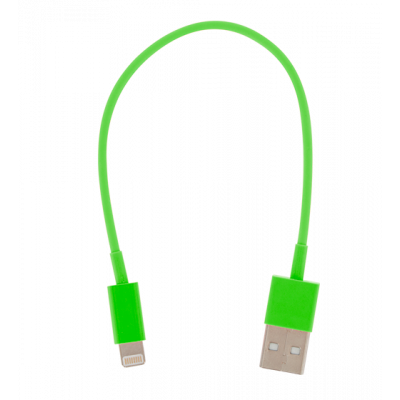 USB Lightning - Mini cavo USB per iPhone 5 Verde