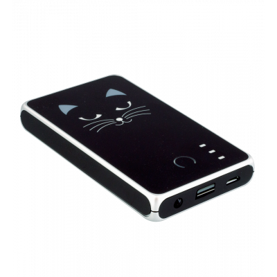 Tragbares Ladegerät 5000mAh - Get The Power 2 Black Cat 2