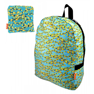 Foldable backpack - Pocket Bag Mimosa