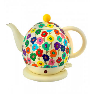 Electric kettle with UK plug - Byzance Primavera