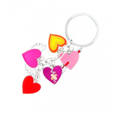 Charms - Keyring Heart