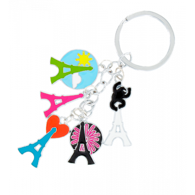 Charms - Keyring Eiffel Tower