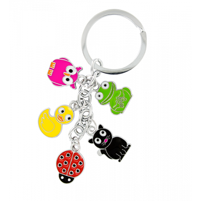 Keyring - Charms 2 Animals