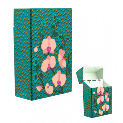 Cigarette case - Clop'in Orchid Blue