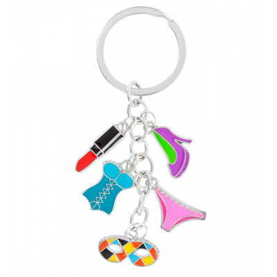 Charms 2 - Keyring Girly