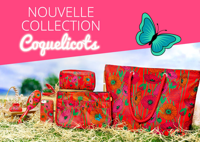 Nouvelle Collection Coquelictos