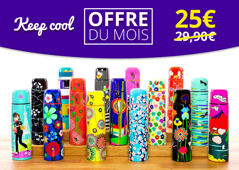 Keep Cool à 25€ au lieu de 29,90 €